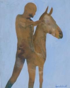 Lars Aukrust - Untitled 2 Acrylic on Canvas, Paintings