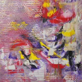 Sherry Rinderer - Illusion Acrylic on Canvas, Paintings