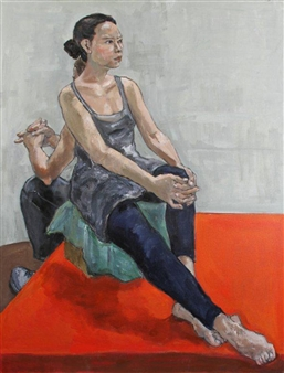Judith Tawil - Pui & Patrick Oil on Canvas, Paintings