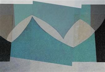 Javier Pastor - Breakwater Digital Print on Paper, Prints