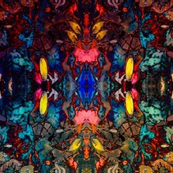 Angélique Droessaert - Trance Revelation Digital Print on Aluminum Substrate, Prints