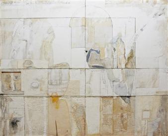 Pedro Alberti - Trip to the Master Acrylic & Mixed Media on Canvas, Mixed Media