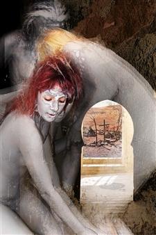 Aurélie Beer - Women Digital Collage, Digital Art