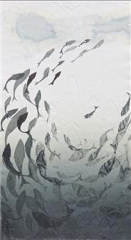Juan Salazar - From the Series Contracorriente 7 Collograph, Prints