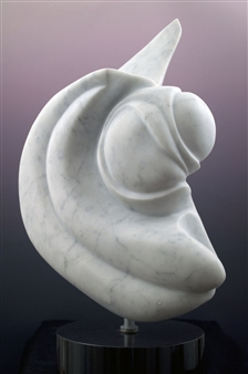 Joel Shapses - Ode to Russ Marble, Sculpture