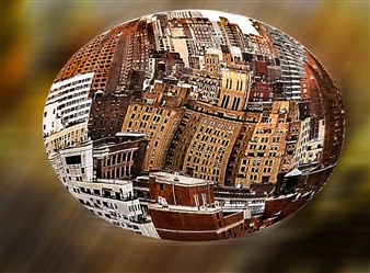 Shifra - City in Space Digital Photography, Photography