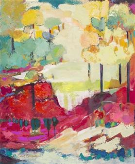 Carol Carpenter - Red Rock Giclee Print on Paper, Prints