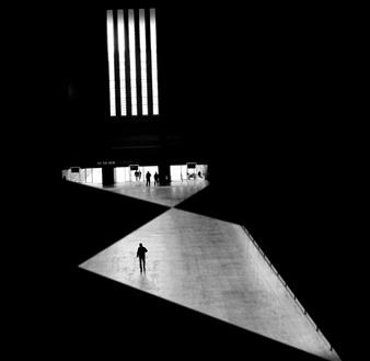 Madiha Abdo - Dark Composition 1 Photograph on Metallic Paper, Photography