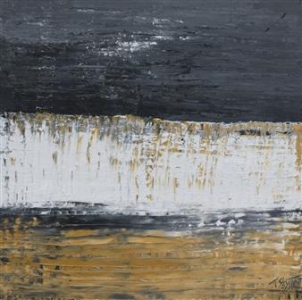 Tanja Skytte - #104 Acrylic on Canvas, Paintings