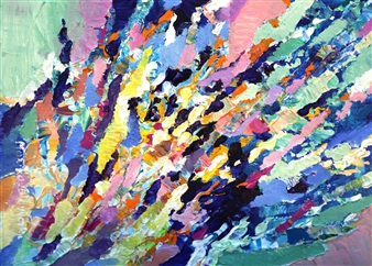 Monika Gloviczki - Samba on the Balaton Lake Acrylic on Canvas, Paintings