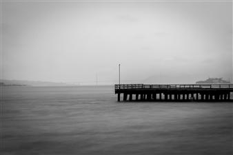 Mario De La Isla - Treasure Island Pier Photograph on Fine Art Paper, Photography