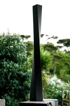 Richard Page - Twisted Column Basalt, Sculpture