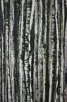 Tanja Skytte - #119 Acrylic on Canvas, Paintings