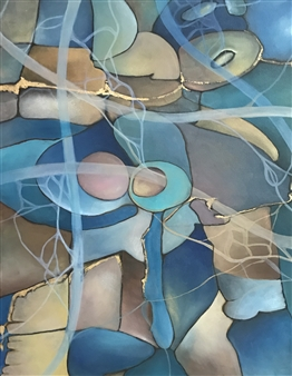 Laura Colantonio - Untitled #3 Oil on Canvas, Paintings