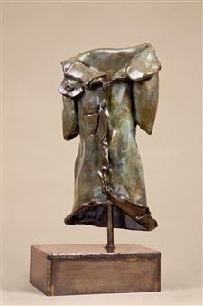 Anita Birkenfeld - Jacket Bronze, Sculpture