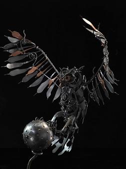 Banjerd Lekkong - View 6 - Different Time, Different Period Iron, Sculpture