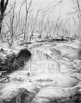 Melissa Helene - Nerstrand Big Woods Graphite, Drawings