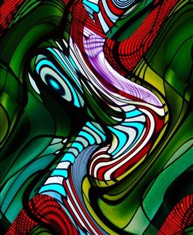 Howard Harris - Mindscape 6 Digital Print on Aluminum, Digital Art