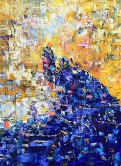 Monika Gloviczki - Traveling Oil on Canvas, Paintings