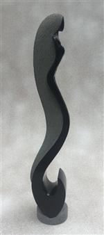MORLOT Claude - View 2 - La Houle (The Swell) Stone, Sculpture