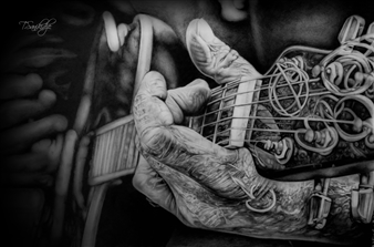 Tiko Sanikidze - Playing the Old Song Pencil on Paper, Drawings