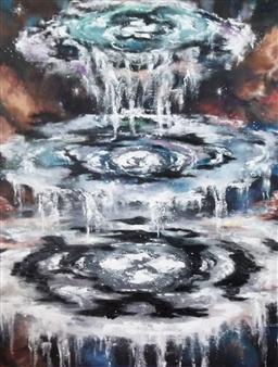 Cheryl Pettigrew - The Seals Oil on Canvas, Paintings
