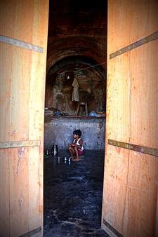 Riya Sharma - Darkness Being Light Photograph on Fine Art Paper, Photography