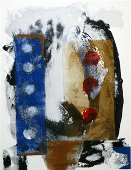Donna Broder - Count Down Monotype on Fine Art Paper, Prints