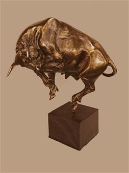 Anna Voloshko - Recalcitrant Bronze, Sculpture