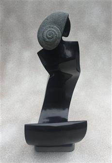 MORLOT Claude - Oceania Stone, Sculpture