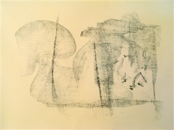 Pep Mazzini - Shadow Graphite on Paper, Drawings