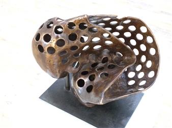 Helgi Gíslason - Mind 4 Bronze, Sculpture