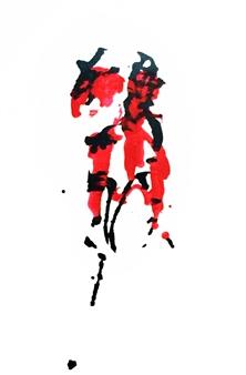 Sarah Elyse Granetz - Pleasure & Pain Acrylic on Canvas, Paintings