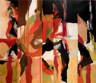 Cristina Prieto Crespi - Tú y Yo Oil on Canvas, Paintings
