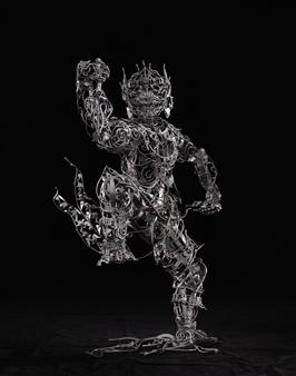Banjerd Lekkong - View 1 - Hanuman's Standing Iron, Sculpture