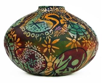 Nora Pineda - Psychic Dance Ceramic, Sculpture