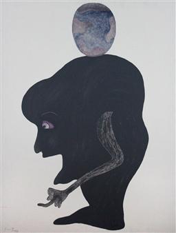 Ardian Tragaj - The Greedies Acrylic on Canvas, Paintings