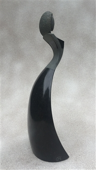 MORLOT Claude - View 2 - Grand Largue (Broad Reach) Stone, Sculpture