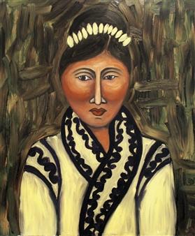 Iva Milanova - Taiga Oil on Canvas, Paintings