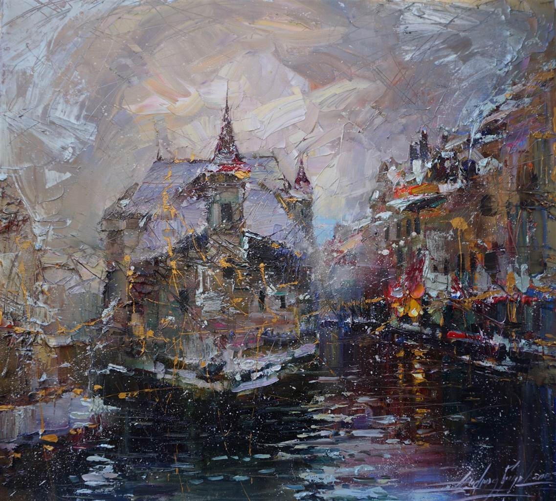Andrey figol 39 s original contemporary art for sale by artmine for Oil paintings for sale amazon
