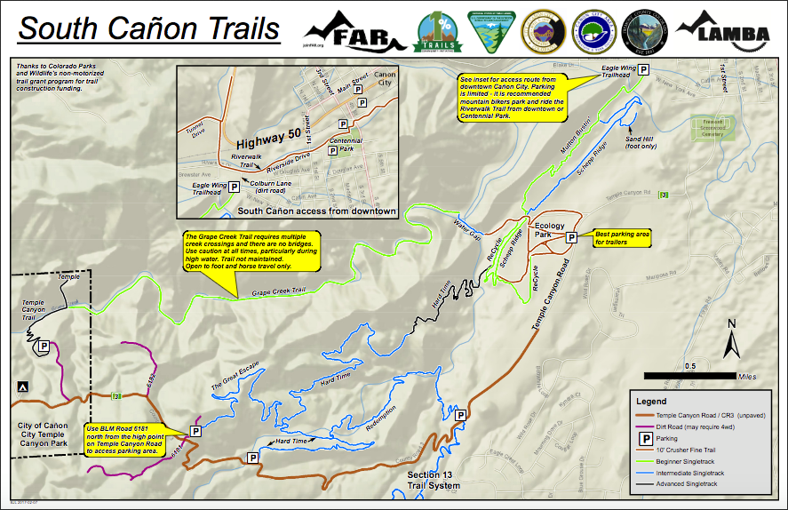 South Caon Trails part of Caon Citys transformation Colorado