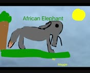 African Elephant Maggie