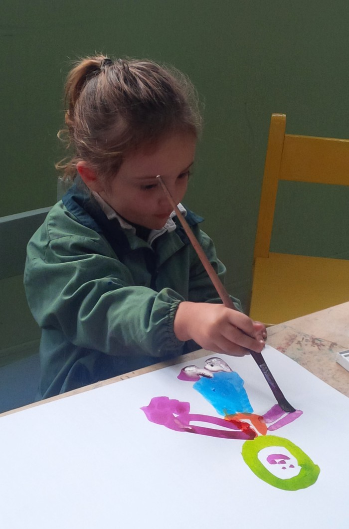 Moving-art - Celsa Burgueno - Arte Taller Celsa - Artista Uruguay - Children Drawing Peace
