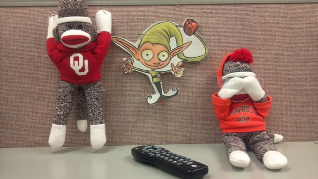 OU and OSU elf