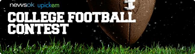College Football Picks Contest: U Pick 'Em Football Contests from The Oklahoman and NewsOK | NewsOK.com