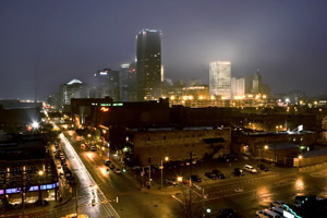 Oklahoma City Skyline - Bricktown