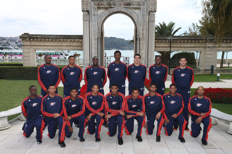 Overseas diary: Photos and video from the Thunder's time in Tur…