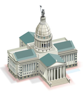 Oklahoma State Capitol Diagram