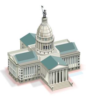 Oklahoma State Capitol Diagram