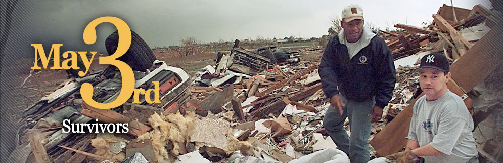 May 3rd, 1999 Oklahoma tornado anniversary survivor stories page